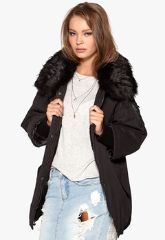 JOFAMA Evy Jacket 00 Black Bubbleroom.no