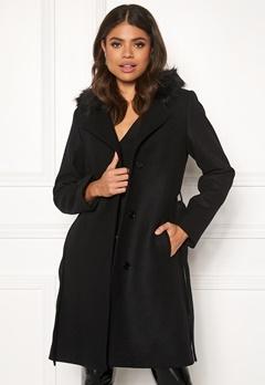 JOFAMA Sophia Coat 00 Black Bubbleroom.no