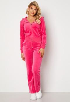 Juicy Couture Cotton Rich Del Ray Pant Raspberry Rose Bubbleroom.no
