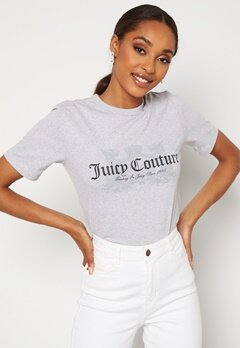 Juicy Couture Dog T-Shirt SIlver Marl Bubbleroom.no