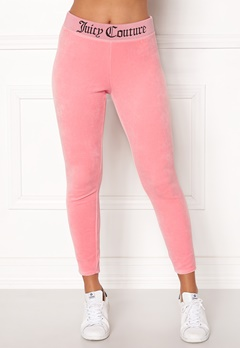Juicy Couture Juicy Jacquard Legging Sorbet Pink Bubbleroom.no