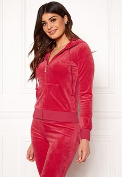 Juicy Couture Luxe Velour Robertson Jkt Cherry Top Bubbleroom.no