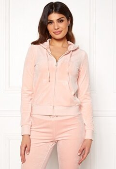 Juicy Couture Luxe Velour Robertson Jkt Pink Shadow Bubbleroom.no