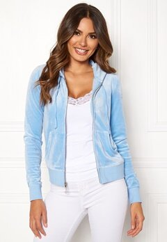Juicy Couture Luxe Velour Robertson Jkt Varsity Blue Bubbleroom.no