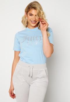 Juicy Couture Numeral T-Shirt Powder Blue Bubbleroom.no