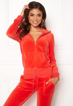 Juicy Couture Velour Robertson Jacket City Rouge Bubbleroom.no