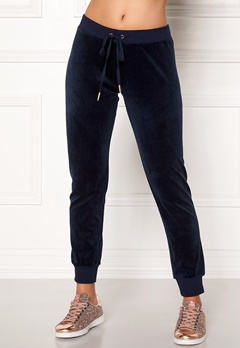 Juicy Couture Velour Zuma Pant Royal Navy Bubbleroom.no