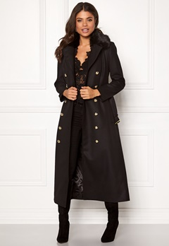 Ida Sjöstedt Jules Coat Wool Black Bubbleroom.no