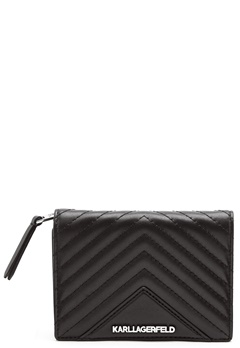 Karl Lagerfeld Classic Quilted Wallet Black Bubbleroom.no