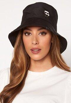 Karl Lagerfeld Ikonik Bucket Hat A999 Black Bubbleroom.no