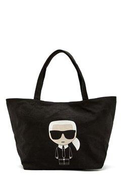 Karl Lagerfeld Ikonik Karl Canvas Tote A999 Black Bubbleroom.no