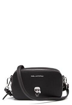 Karl Lagerfeld Metal Pin Camera Bag 999 Black Bubbleroom.no
