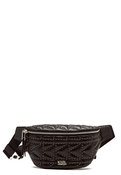 Karl Lagerfeld Quilted Studs Bumbag Black/Nickel Bubbleroom.no
