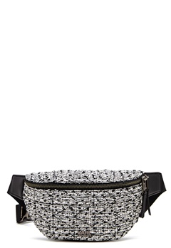 Karl Lagerfeld Quilted Tweed Bumbag Black/White Bubbleroom.no