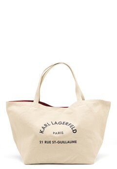 Karl Lagerfeld Rue St Guillaume Canvas 106 Natural Bubbleroom.no