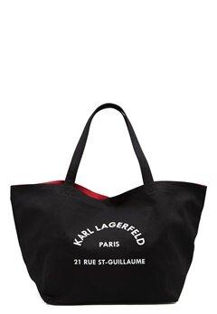 Karl Lagerfeld Rue St Guillaume Canvas 999 Black Bubbleroom.no