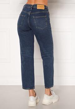 SELECTED FEMME Kate HW Stright Inky Jeans Medium Blue Denim Bubbleroom.no