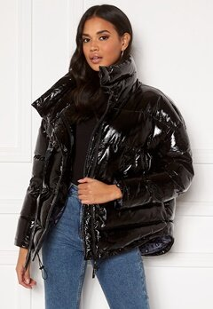 KENDALL + KYLIE K&K W Tape Bomber Black Bubbleroom.no