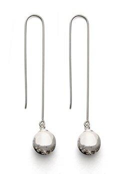 Gynning Jewelry Kettlebell Earring Silver Bubbleroom.no