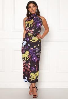 LARS WALLIN Halterneck Dress Multi AOP Bubbleroom.no