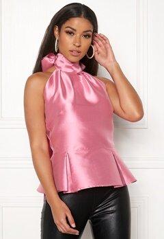 LARS WALLIN Halterneck Top Pink Bubbleroom.no