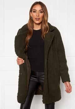 ONLY Laurelia Sherpa Coat Rosin Bubbleroom.no