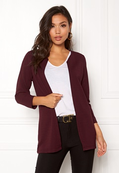 ONLY Leco 7/8 Long Cardigan Port Royale Bubbleroom.no