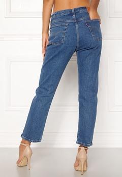 LEVI'S 501 Crop Jeans 0073 Jive Stonewash Bubbleroom.no