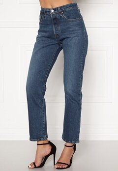 LEVI'S 501 Crop Jeans 0094 Charleston All Bubbleroom.no