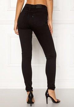 LEVI'S 720 Hirise Super Skinny Jeans 0000 Black Galaxy Bubbleroom.no
