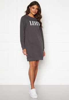 LEVI'S Crew Sweatshirt Dress Forged Iron Bubbleroom.no