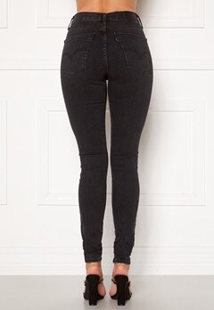LEVI'S Mile High Super Skinny Jeans 0147 Black Haze Bubbleroom.no