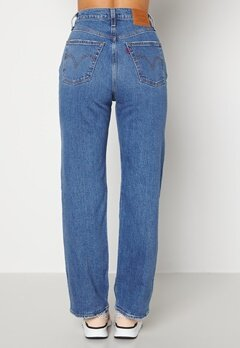 LEVI'S Ribcage Straight Ankle 0099 Jive Together bubbleroom.no