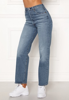 LEVI'S Ribcage Straight Ankle Jeans 0019 Jive Swing Bubbleroom.no