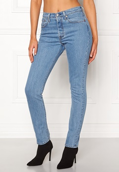 LEVI'S 501 Skinny Jeans 0077 Small Blessings Bubbleroom.no
