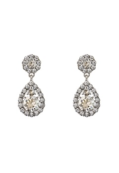 LILY AND ROSE Petite Sofia Earrings Crystal Bubbleroom.no