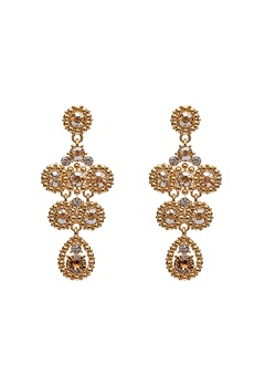 LILY AND ROSE Petite Kate Earrings Champagne Bubbleroom.no