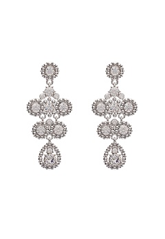 LILY AND ROSE Petite Kate Earrings Crystal Bubbleroom.no