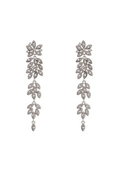 LILY AND ROSE Petite Laurel Earrings Crystal Bubbleroom.no