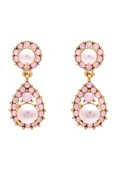 LILY AND ROSE Sofia Pearl Earrings Rosaline Bubbleroom.no