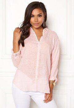 Boomerang Linn Linen Shirt Chalk Pink Bubbleroom.no