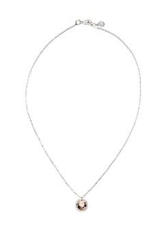 SNÖ of Sweden Lissy Pendant Necklace Silver/Vintage Rose Bubbleroom.no