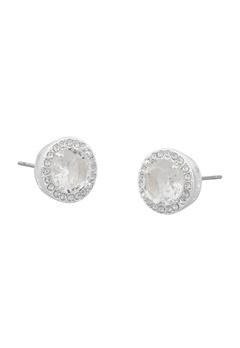 SNÖ of Sweden Lissy Stone Earrings Silver/Clear Bubbleroom.no