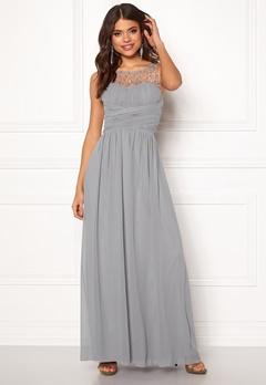 Little Mistress Anna Pearl Dress Grey Bubbleroom.no