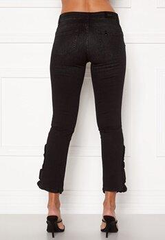 Liu Jo Ruffle Jeans 87204 Den.Black Bubbleroom.no