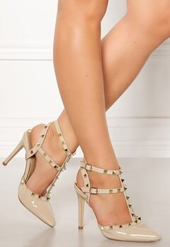 Truffle Liw High Heel Sandals Nude Bubbleroom.no