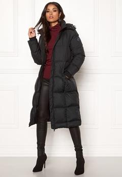 GANT Long Down Coat 5 Black Bubbleroom.no