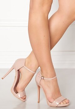 LOST INK Blossom Stiletto Sandal Nude Bubbleroom.no