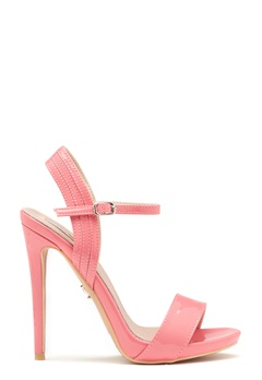 LOST INK Bluebell Ankle Sandal Coral Bubbleroom.no