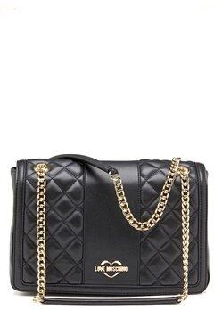 Love Moschino Love M Big Bag Black Bubbleroom.no